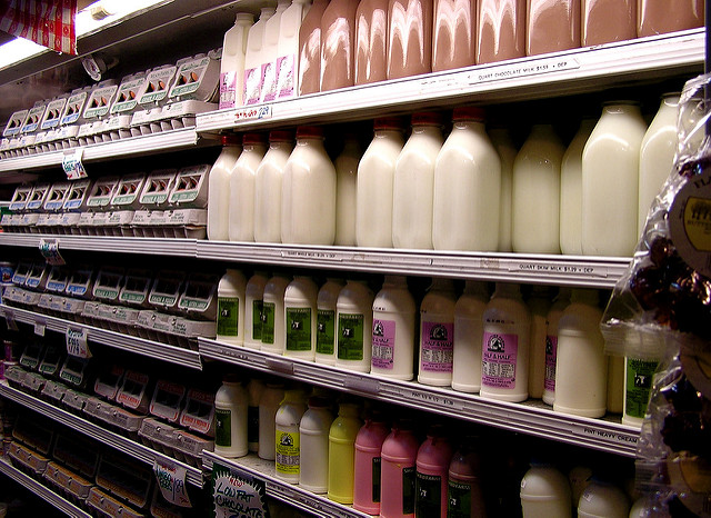 milks eggs
