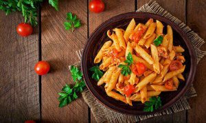Pasta everyone! Let's savour this meal together.
